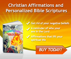 Christian Affirmations and Personalized Bible Scriptures